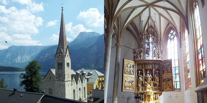 hallstatt-austria-pueblo-bonito-arte-religioso