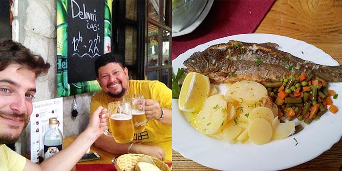 lago-bohinj-eslovenia-comida-tipica-trucha