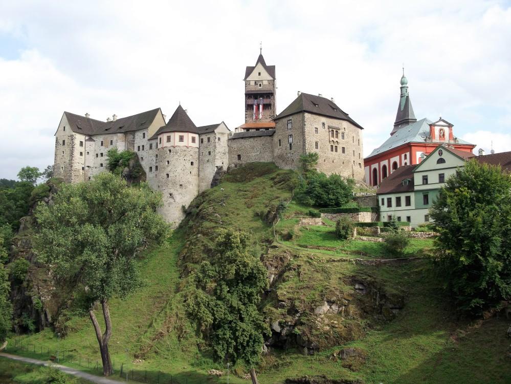 Loket-castillo-fortaleza-medieval-donviajon-republica-checa