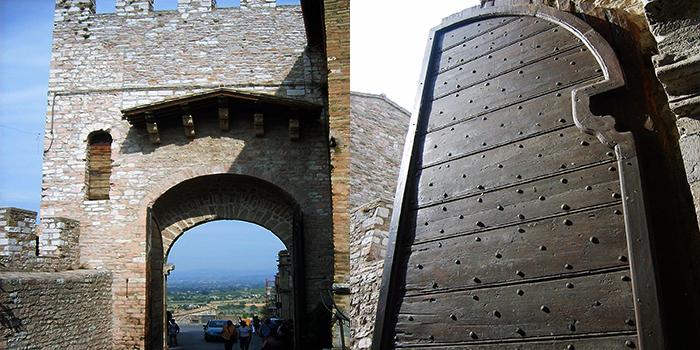 Asis-arte-gotico-donviajon-murallas-puertas-medievales-cultura-turismo-perugia-italia