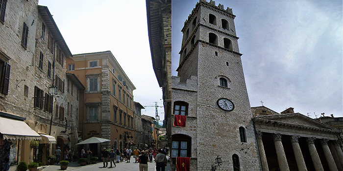 Asis-plaza-de-los-comunes-donviajon-ciudad-medieval-arte-cultura-turismo-umbria-italia