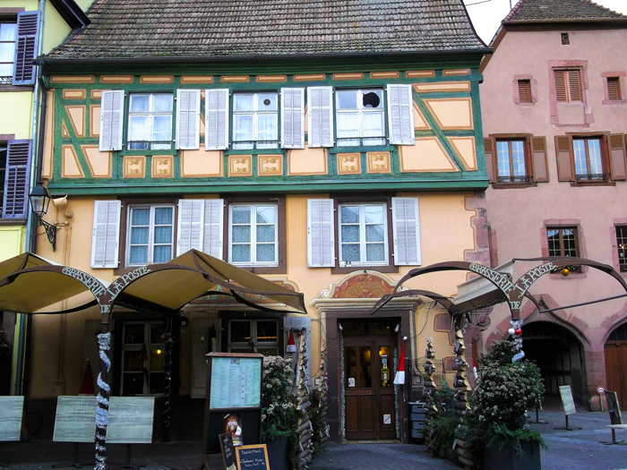 Ribeauville-restaurante-brasserie-la-poste-donviajon-turismo-gastronomico-enologico-alsacia-francia