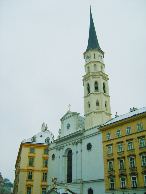Viena-iglesia-de-san-Miguel-donviajon-turismo-cultural-religioso-arte-barroco-Viena-Austria