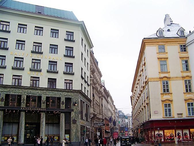 Viena-Looshaus-art-nouveau-donviajon-calle-comercial-turismo-de-compras-cultural-Viena-Austria