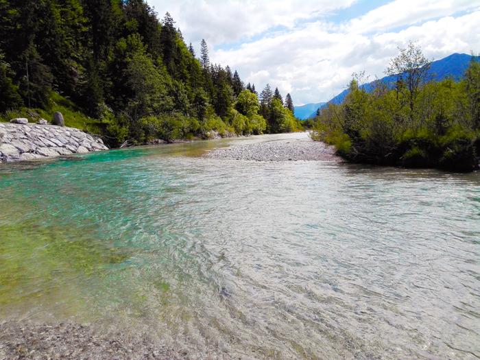 rio-Isar-Vorderriß-don-viajon-turismo-aventura-naturaleza-Karwendel-alpes-bavaros-Alemania