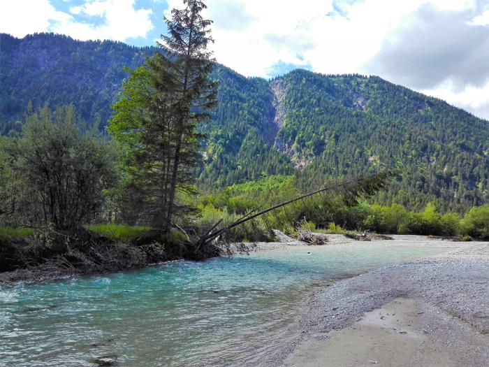 rio-Isar-Vorderriß-Karwendel-donviajon-turismo-aventura-naturaleza-senderismo-Alta-Baviera-Alemania