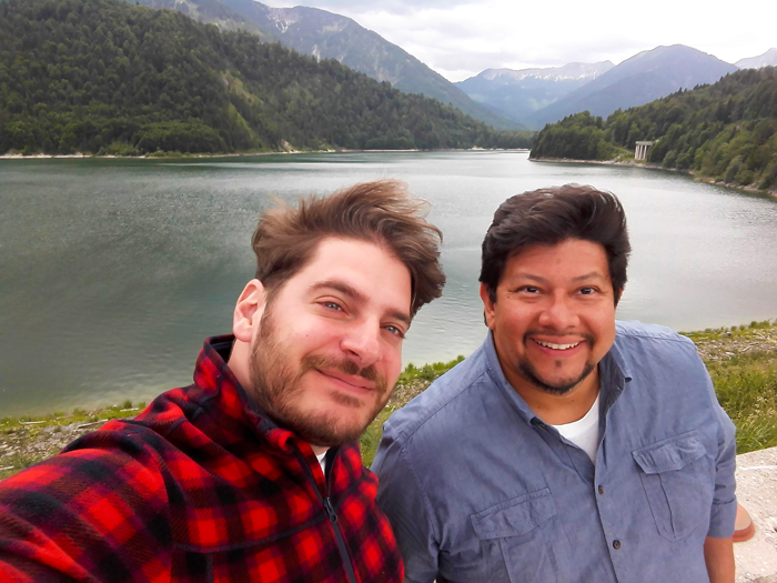 Sylvensteinspeicher-don-viajon-viajando-con-pasion-turismo-naturaleza-rio-isar-Lenggries-Baviera-Alemania
