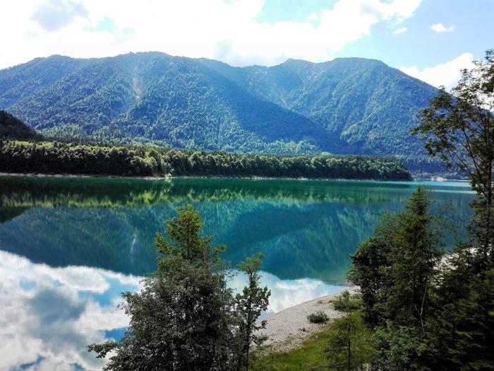 Sylvensteinspeicher-lagos-bonitos-Baviera-donviajon-turismo-aventura-naturaleza-Karwendel-Lenggries-Alemania