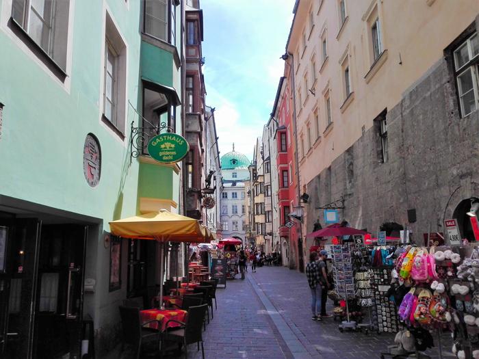 Innsbruck-calle-comercial-don-viajon-turismo-de-compras-Tirol-Austria