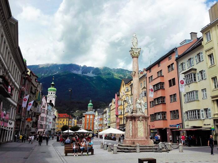 Innsbruck-columna-de-la-Virgen-don-viajon-turismo-religioso-Tirol-Austria