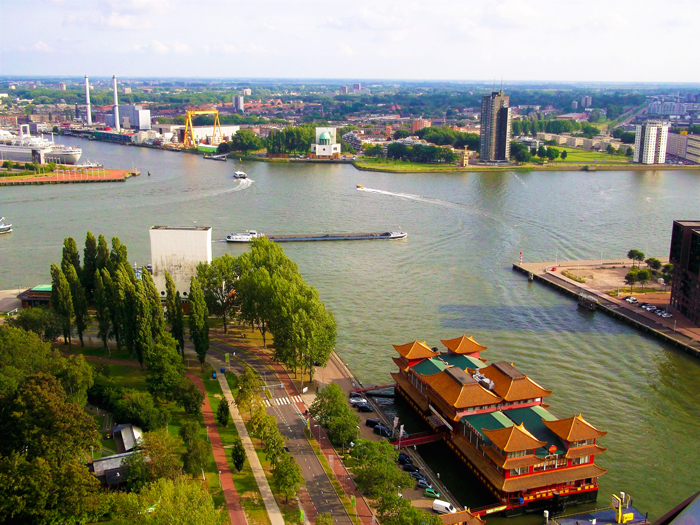 Euromast-vista-panoramica-de-Roterdam-don-viajon-turismo-cultural-Holanda