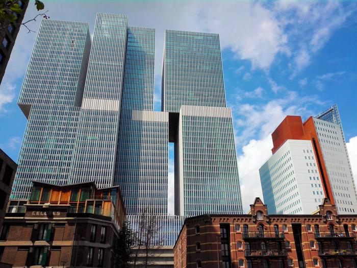 Kop-Van-Zuid-Rotterdamtoren-don-viajon-turismo-urbano-arquitectura-innovacion-modernidad-Holanda
