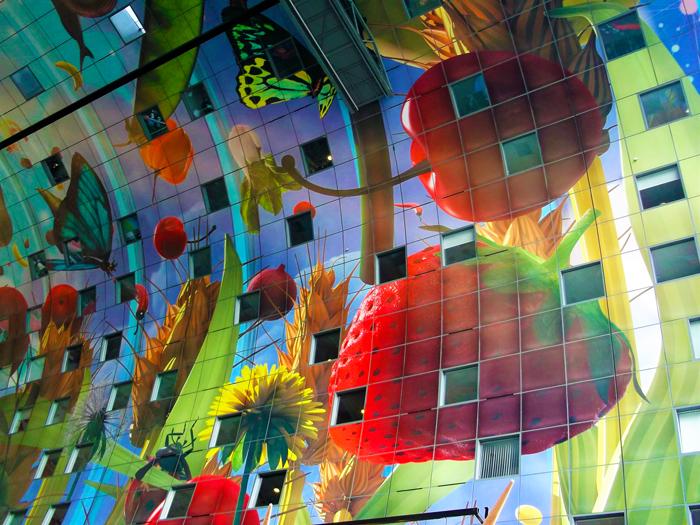 Markthal-gran-mural-don-viajon-turismo-gastronomico-mercado-municipal-Roterdam-Paises-Bajos