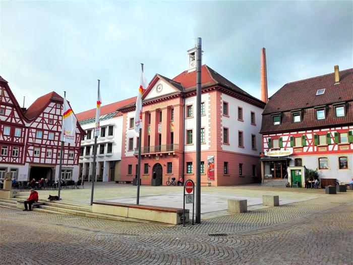 Eppingen-casas-de-entramado-de-madera-don-viajon-turismo-cultural-recreativo-Baden-Wurttemberg-Alemania