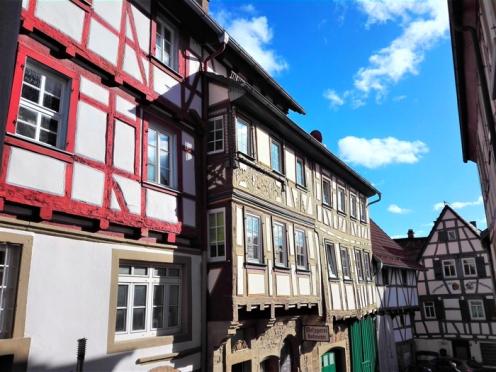 Eppingen, coloridas casas de madera