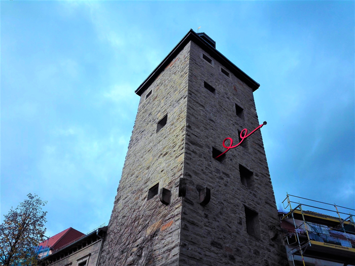 Eppingen-torre-medieval-don-viajon-turismo-cultural-franconia-Baden-Wurttemberg-Alemania