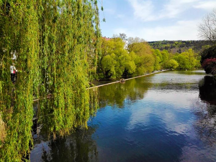 Pforzheim-valle-del-rio-Nagold-don-viajon-turismo-recreativo-senderismo-aventura-Selva-Negra-Baden-Wurttemberg-Alemania