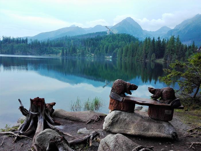 Strbker-Pleso-lago-glaciar-don-viajon-turismo-rural-recreativo-aventura-Altos-Tatras-Eslovaquia