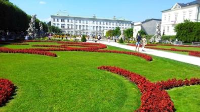 Jardines del Palacio Mirabell en Salzburgo