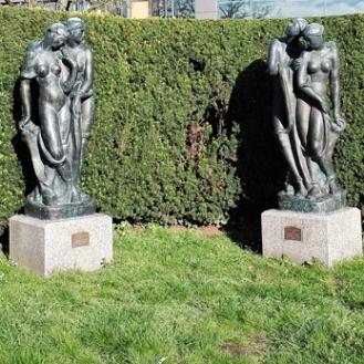 Ettlingen-esculturas-arte-moderno-don-viajon-turismo-urbano-cultural-recreativo-senderismo-Baden-Wurttemberg-Alemania