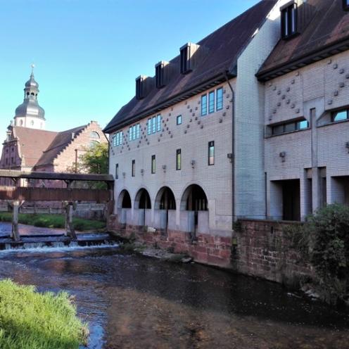 Ettlingen-valle-del-rio-Alb-puente-de-madera-don-viajon-turismo-urbano-cultural-recreativo-senderismo-Baden-Wurttemberg-Alemania
